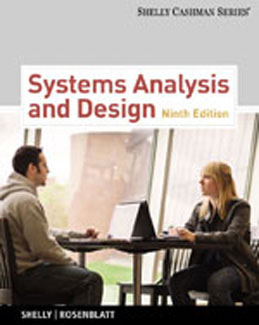 Test Bank (Download Only) for Systems Analysis and Design, 9th Edition: Shelly, 1133274056, 9781133274056
