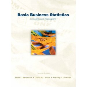 Test Bank (Download Only) for Basic Business Statistics, 11th Edition, Berenson, 0136032605, 9780136032601