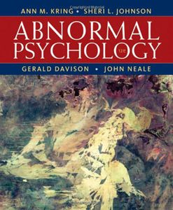 Test Bank (Download Only) For Abnormal Psychology, 12th Edition, Ann M. Kring, 1118018494, 9781118018491