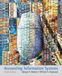 Test Bank (Download Only) for Accounting Information Systems, 10th Edition, Bodnar 013609712X, 9780136097129