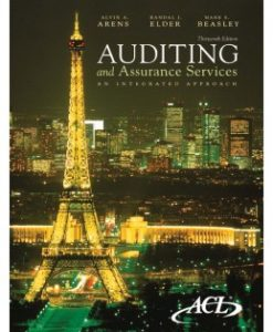 Test Bank (Download Only) for Auditing and Assurance Services, 13th Edition, Alvin A. Arens, 0136084737, 9780136084730