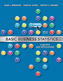 Test Bank (Download Only) for Basic Business Statistics, 12th Edition, Berenson, 0132168383, 9780132168380