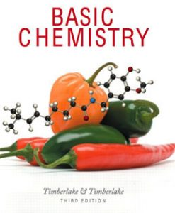 Test Bank (Download Only) for Basic Chemistry, 3rd Edition, Timberlake, 0321663101, 9780321663108