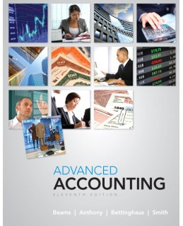 Test Bank (Download Only) for Advanced Accounting, 11th Edition, Floyd A. Beams, 0132568969, 9780132568968