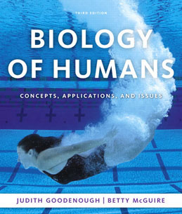 Test Bank (Download Only) for Biology of Humans Concepts Applications and Issues, 3rd Edition, Goodenough, 0321551931, 9780321551931