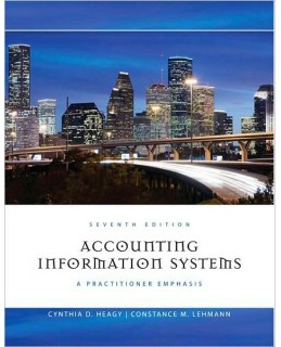 Test Bank (Download Only) for Accounting Information Systems, 7th Edition, Cynthia D. Heagy, 1111219516, 9781111219512