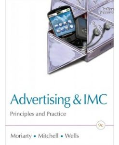 Test Bank (Download Only) for Advertising & IMC, 9th Edition, Sandra Moriarty, 0132163640, 9780132163644