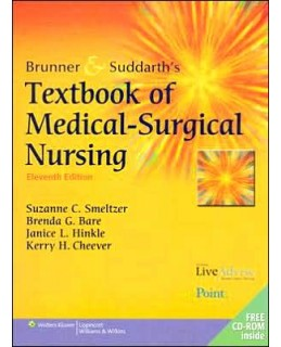 Test Bank (Download Only) for Brunner and Suddarth's Textbook of Medical-Surgical Nursing, 11th Edition, Suzanne C. Smeltzer, 0781759781, 9780781759786