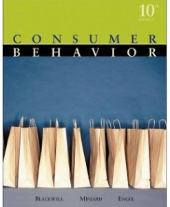 Test Bank (Download Only) for Consumer Behavior, 10th Edition, Roger D. Blackwell, 0324271972, 9780324271973