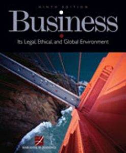 Test Bank (Download Only) for Business Its Legal Ethical and Global Environment, 9th Edition, Jennings, 1111661308, 9781111661304
