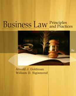 Test Bank (Download Only) for Business Law, 8th Edition, Goldman, 1439079226, 9781439079225