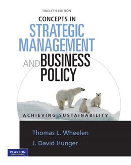 Test Bank (Download Only) for Concepts in Strategic Management and Business Policy, 12th Edition, Wheelen, 0136097359, 9780136097358