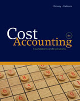 Test Bank (Download Only) for Cost Accounting Foundations and Evolutions, 8th Edition, Kinney, 1439044619, 9781439044612
