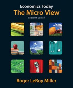 Test Bank (Download Only) for Economics Today The Micro View, 16th Edition, Miller, 0132961628, 9780132961622