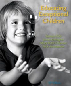 Test Bank (Download Only) for Educating Exceptional Children, 13th Edition, Kirk, 049591360X, 9780495913603
