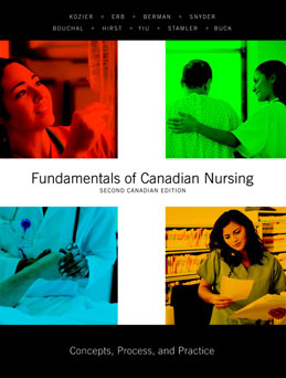 Test Bank (Download Only) for Fundamentals of Canadian Nursing Concepts Process and Practice, 2nd Edition, Kozier, 0136070582, 9780136070580