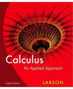 Test Bank (Download Only) for Calculus: An Applied Approach, 9th Edition, Ron Larson, 1133109284, 9781133109280