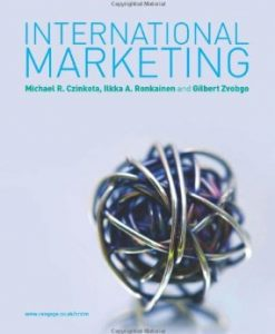 Test Bank (Download Only) for International Marketing, 1st Edition, Czinkota, 1408009234, 9781408009239