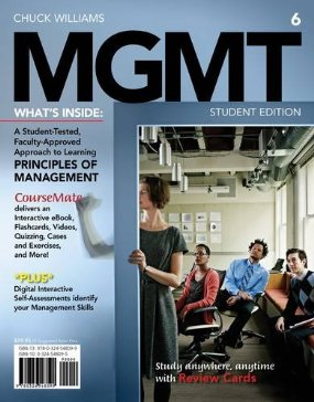 Test Bank (Download Only) for MGMT 6th Edition, Williams, 1285091078, 9781285091075
