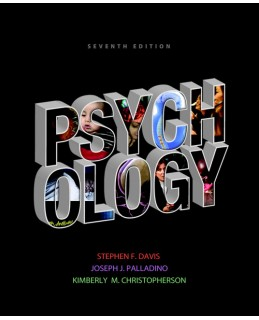 Test Bank (Download Only) for Psychology, 7th Edition, Stephen F. Davis, 020584684X, 9780205846849