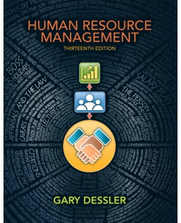 Test Bank (Download Only) for Human Resource Management, 13th Edition, Gary Dessler, 0133029867, 9780133029864