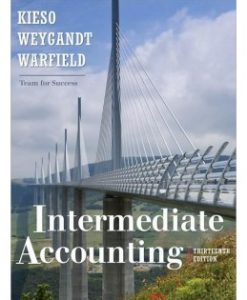 Test Bank (Download Only) for Intermediate Accounting, 13th Edition, Donald E. Kieso, 0470423692, 9780470423691