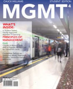 Test Bank (Download Only) for MGMT4, 4th Edition, Williams, 1111221316, 9781111221317