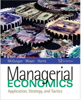 Test Bank (Download Only) for Managerial Economics, 12th Edition, James R. McGuigan, 1439079234, 9781439079232