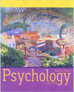 Test Bank (Download Only) for Psychology, 9th Edition, David G. Myers, 1429215976, 9781429215978