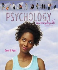 Test Bank (Download Only) for Psychology in Everyday Life, 2nd Edition, David G. Myers, 1429263946, 9781429263948