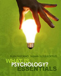 Test Bank (Download Only) for What is Psychology Essentials, 1st Edition, Pastorino, 0495596736, 9780495596738