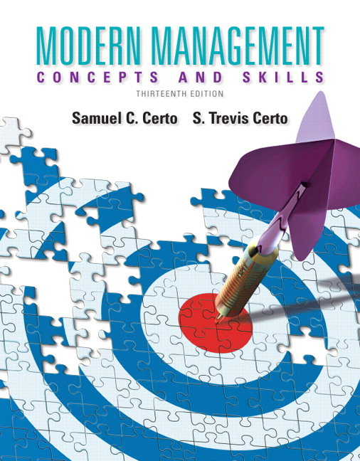 Solution Manual (Download Only) for  Modern Management: Concepts and Skills