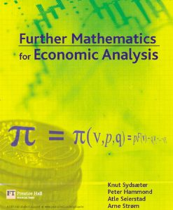 Solution Manual (Download Only) for  Further Mathematics for Economic Analysis