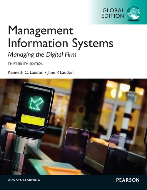 Solution Manual (Download Only) for  Management Information Systems