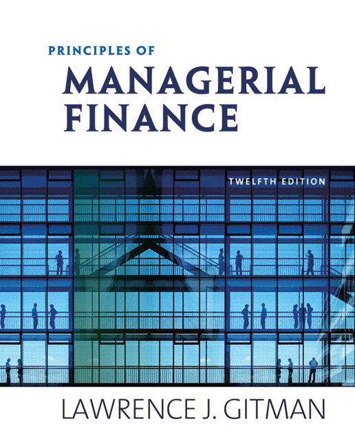 Solution Manual (Download Only) for  Principles of Managerial Finance
