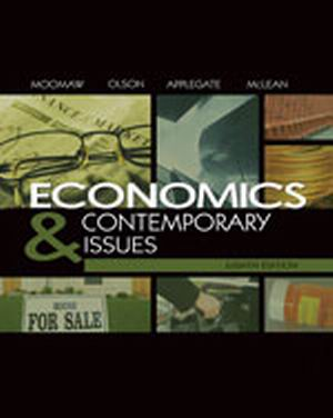 Solution Manual (Download Only) for  Economics and Contemporary Issues