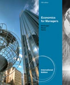 Solution Manual (Download Only) for  Economics for Managers