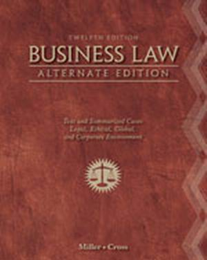 Test Bank (Download Only) for  Business Law