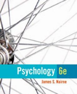 Test Bank (Download Only) for  Psychology