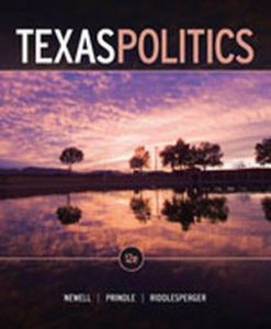 Solution Manual (Download Only) for  Texas Politics