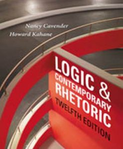 Solution Manual (Download Only) for  Logic and Contemporary Rhetoric: The Use of Reason in Everyday Life