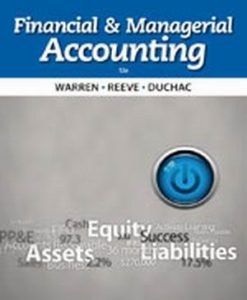 Solution Manual (Download Only) for  Financial & Managerial Accounting
