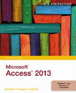 Solution Manual (Download Only) for  New Perspectives on Microsoft® Access 2013