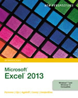 Solution Manual (Download Only) for  New Perspectives on Microsoft® Excel® 2013