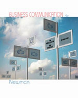 Test Bank (Download Only) for  Business Communication: In Person