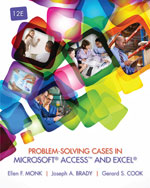 Solution Manual (Download Only) for  Problem-Solving Cases in Microsoft® Access™ and Excel®