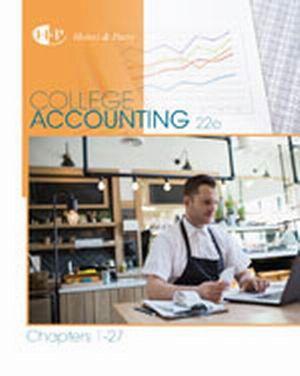 Test Bank (Download Only) for  College Accounting