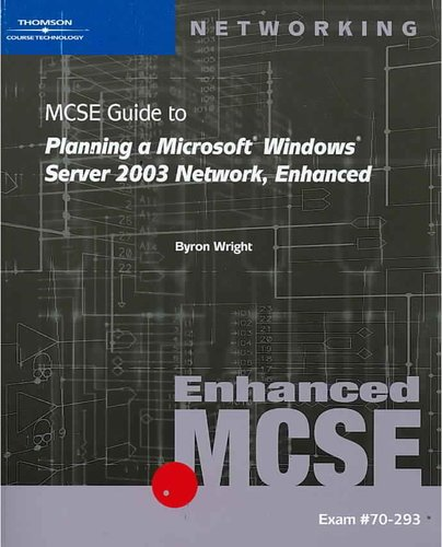 Solution Manual (Download Only) for  70-293: MCSE Guide to Planning a Microsoft Windows Server 2003 Network