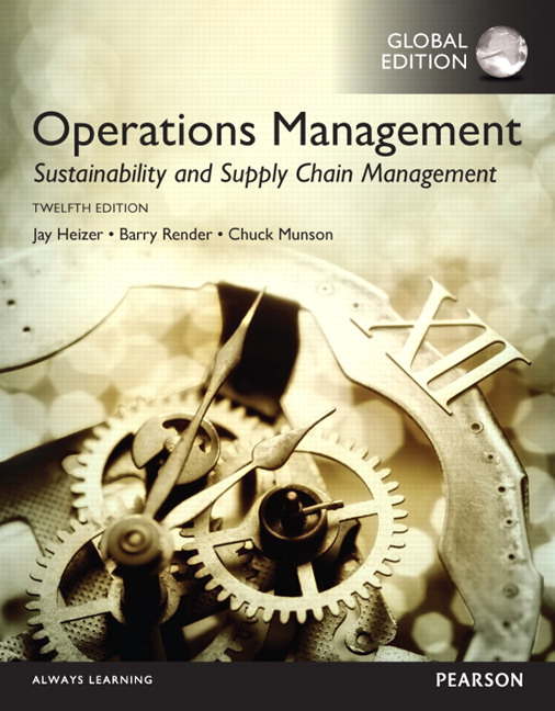 Test bank for operations management sustainability and supply chain test bank download only for operations management sustainability and supply chain management global edition 12e jay heizer barry render fandeluxe Gallery