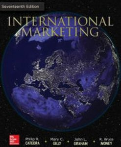Test Bank for International Marketing, 17/e, Cateora